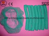 El Fabricante Suministra Desechables No Tejidas Azul / Verde / Blanco Gorra Médica