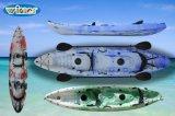 Kajaks (de 2+1 ASIENTOS) que se pueden utilizar en el océano y en los ríos