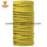 Custom Seamless Tube Scarf Microfiber Polyester Multifuncional Bandana Tubular Headwear para esportes ao ar livre