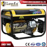 Générateur 100% de cuivre à moteur initial d'essence de l'alternateur 3kVA de Gx200 6.5HP pour Honda