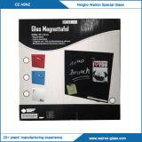 Het magnetische Glas Whiteboard, droog-wist Raad