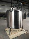 Jarabe de acero inoxidable de mezcla del tanque con agitador raspador