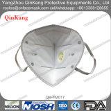 Respirateur particulaire pliable de la soupape Ffp3 approuvée de la CE