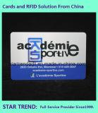 Подгонянная карточка Cr 80 с Barcode для рекламы