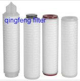 De nylon Membraan Geplooide Filtratie van de Oplossing van de Patroon van de Filter Micr