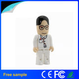 Doctor plástico 2016 del surtidor 4GB 8GB de China Shape USB Pendrive