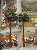 Palmier artificiel de la noix de coco 2017 pour l'horizontal de plage d'hôtel