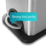 Gallone 8L dell'acciaio inossidabile 2.1 della pattumiera del pedale per la stanza da bagno