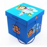 Handel u. Lieferant des China-Produkt-Tuches stellten in Geschenk-Kasten ein