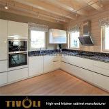 Het duidelijke Witte Meubilair van de Keuken van de Vorm van L (AP121)