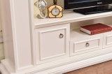 現代木製の暖炉TVの立場のホーム家具(346B)