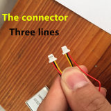 Li-Polímero Modelo 602536 602535 500mAh 3.7V batería de polímero de litio MP3 MP4 GPS El conector