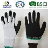 Enduit de nitriles, gants de travail de sûreté de fini de Sandy (SL-NS119)