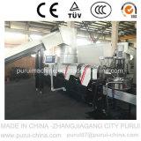 Machine de réutilisation en plastique de rebut pour la pelletisation de sac tissée par pp