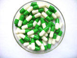 Leere Kapsel-Gelatine-harte Kapsel-Pille-verpackennahrungsmittelgrad-Größe 0