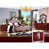 Base della camera da letto per gli insiemi classici della mobilia della camera da letto (W816)