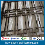 Wholesale Liveing Room Partition Wall of Stainless Steel Folding Screens