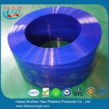 유연한 파란 불투명한 PVC 비닐 지구 문 커튼