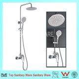 Douche en laiton de Bath de qualité de salle de bains de traitement de luxe de double