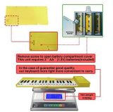 Digitale Instrumenten van het Toetsenbord van de Piano USB de Elektronische
