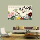 Harmonie holt Reichtum-Tintenstrahl gedruckten chinesischen Farbanstrich für Hauptdekoration