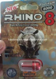 코뿔소 7 백금 남성 리비도 승압기를 위한 성적인 증진 환약