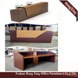 (HX-5N428) Forniture di ufficio di legno del MDF dello scrittorio del contatore della Banca di ricezione della ciliegia