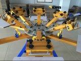 Хозяйственный 6 печатный станок экрана станции цвета 6
