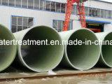 Tubo de abastecimiento del agua del certificado FRP GRP de la ISO