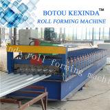 780 galvanizó el metal de acero del perfil que cubría el rodillo acanalado de la hoja que formaba las máquinas C10