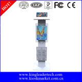 Stand de kiosque de tablette avec la crémaillère acrylique de panneau et de feuillet pour la publicité