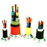 Cable eléctrico acorazado 0.6/1kv de la cinta de acero de cobre de la base VV32