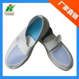 El PVC antiestático agujerea el zapato de trabajo, zapatos de la marca de fábrica del ESD Linkworld