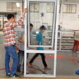 China-Hersteller-Aluminiumdoppelverglasung-Spitzen Windows gehangen/Markise