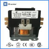 Contator definitivo da finalidade do condicionador de ar 24V 30A 1.5 Pólos da alta qualidade do certificado do UL