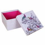 Rectángulo de papel de empaquetado de la flor rígida hecha a mano de lujo