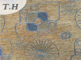 Washable жаккард синеля ткани драпирования для комплекта софы или стула