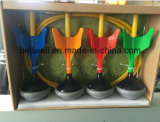 屋外のおもちゃの4colorコードされた投げ矢および2リングが付いている屋内パーティー用のゲームの庭の芝生の投げ矢のゲームセットTagets