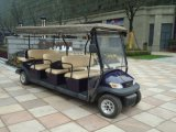 Chariot guidé électrique de 11 passagers pour la station touristique
