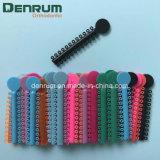 Legatura elastica del legame di colori ortodontici dei materiali 44 di Denrum con l'alta qualità