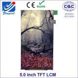 480 X RGB X 854 Puntos Mipi Interfaz Fwvga 5.0inch Tn TFT LCD