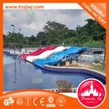 Diapositiva al aire libre respetuosa del medio ambiente del equipo del parque del agua en Guangzhou