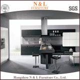 Горячая продавая кухня серого цвета металла деревянная
