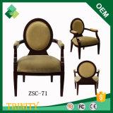 Presidenza rotonda di legno esotica per la cabina e randello in betulla (ZSC-71)