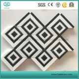 El mosaico de mármol blanco/el mosaico de mármol/el mosaico de piedra/pulieron el mosaico para la pared/el suelo