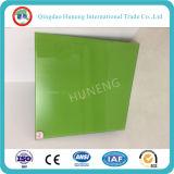 glace verte de traitement au four de 3-6mm peinte en verre avec le certificat d'OIN de la CE