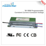 programa piloto actual 30~50W/constante constante programable al aire libre del voltaje LED