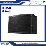 El sitio del canto escoge Karaoke audio de 8 pulgadas el altavoz profesional (K350)