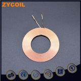 Alambre magnético esmaltado Bobina inductiva de cobre plano
