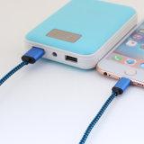 5V 2A Nylon isolé 8 broches foudre Câble USB pour téléphone Samsung